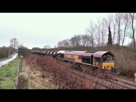 66126 & 60040 Diverted Margam to Trostre Coils 15/12/2013.