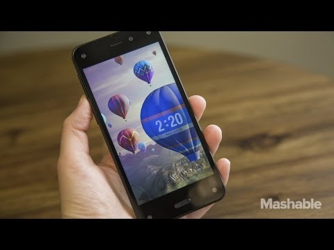 Hands On: Amazon's Fire Phone | Mashable