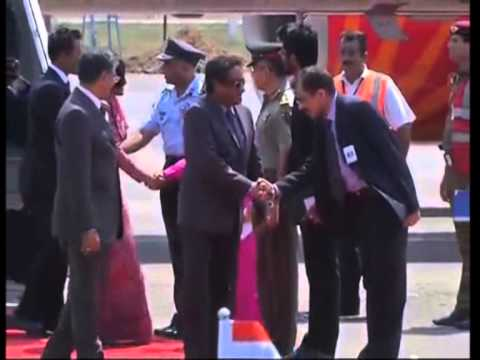 Maldives President Arrives In New Delhi for Modi Oath- Taking Ceremony