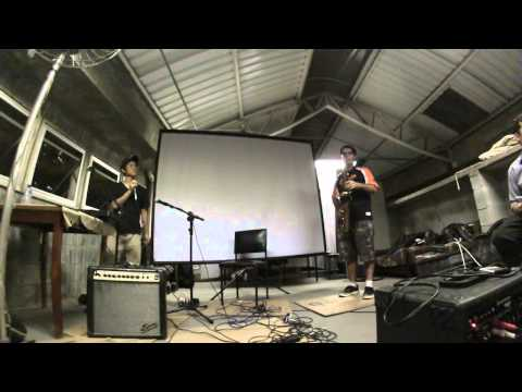 VirusABC - Tenor Sax C Blues Improvisation - at Show Abeuni 2014