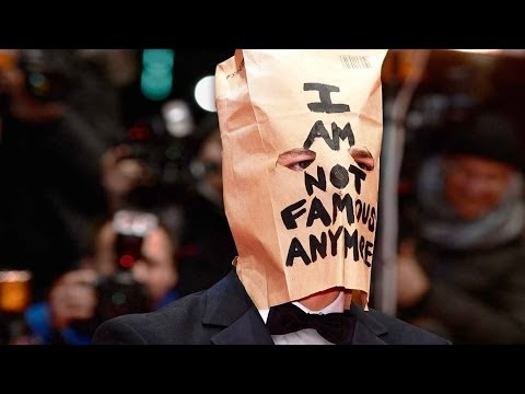 Shia Labeouf Wears Paper Bag To Nymphomaniac Premiere