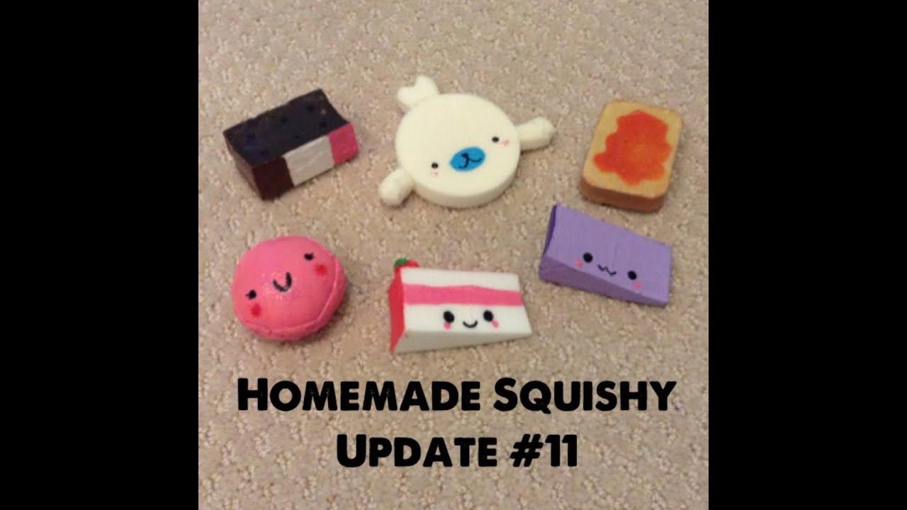 Diy Squishy Cake : Homemade Squishy Update #11 - YouTube