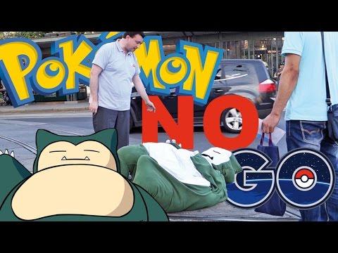 PokemonGo Prank - Relaxo Prank