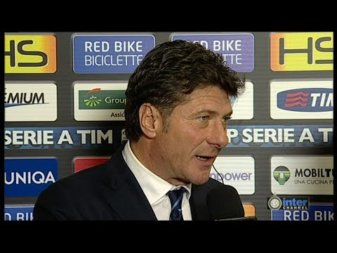 INTERVISTA WALTER MAZZARRI POST UDINESE-INTER