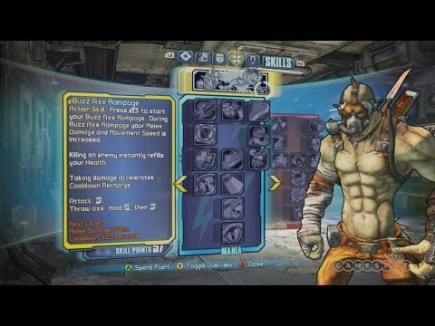 Borderlands 2: Krieg the Psycho Bandit - Release the Beast Developer Demo