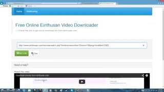 How To Download Movies From Einthusan.com