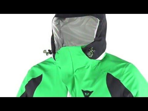 Dainese Tarvos D-Dry Mens Ski Jacket in Eden Green