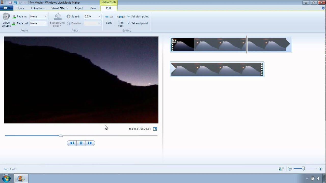 Tutorial de Windows Live Movie Maker - Acelera la velocidad de tu ...