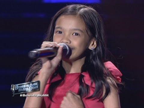 Zephanie Dimaranan sings