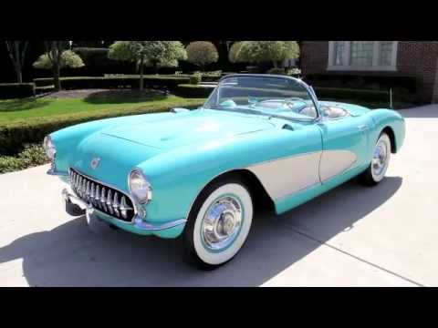 1956 Chevrolet Corvette Classic Muscle Car For Sale In Mi