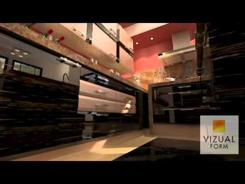 Nowoczesne Meble Kuchenne Na Wysoki P Ysk Vizual Form Studio Design Kitchen Youtube