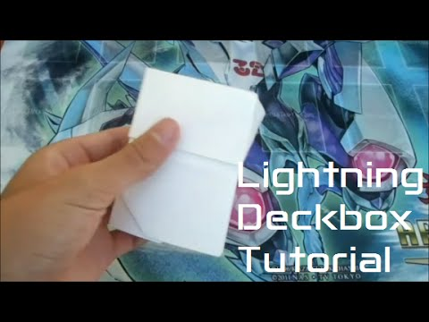 Lightning Deckbox Tutorial