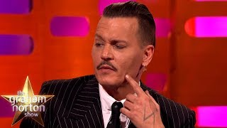 Johnny Depp CANNOT Grow a Beard! | The Graham Norton Show