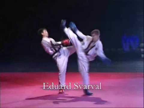 Prof Fights Taekwon-do (ITF) in Estonia. (