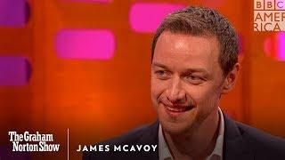 James McAvoy Unloads on Jennifer Lawrence - The Graham Norton Show