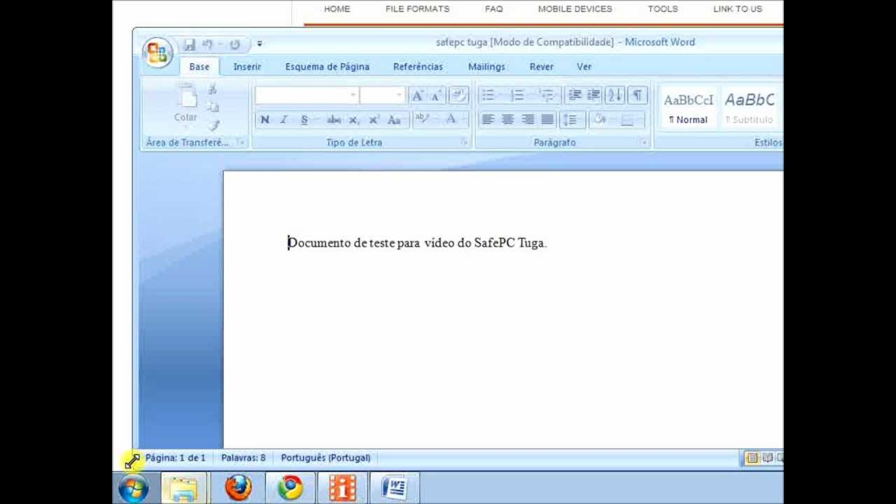 Converter ODT para Word [Tutorial] - YouTube