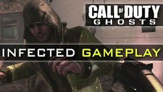 CoD Ghosts INFECTED Gameplay - New Game Mode - Infection