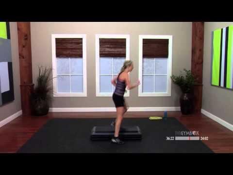 Step aerobics routines with Jenni  60 Minutes