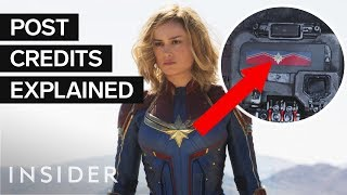 'Captain Marvel' Two Post Credits Scenes, Explained (SPOILERS)