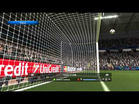 Pro Evolution soccer 2014 : view replay funny chelsea in scoring goal