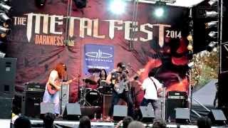 MARTYRIUM - THE METAL FEST 2014 (  MOVISTAR ARENA )