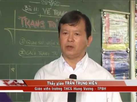 Người thầy 24 năm gắn bó với môn mỹ thuật.mp4