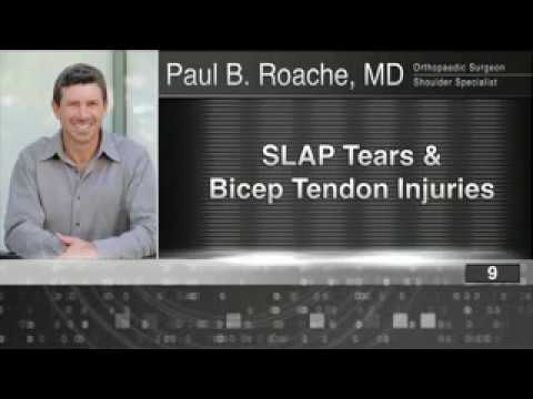 9) SLAP Tears and Bicep Tendon Injuries