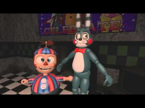 Five Nights at Freddy's Bonnie y Chica Los Padres - (Español) SFM 2 FNAF: Animations and Songs 2015
