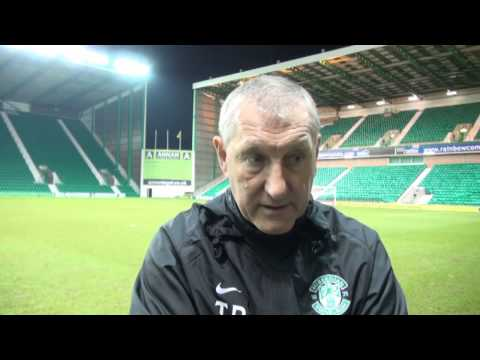 Terry Butcher Reviews Hibernian 2 St Mirren 3 18/01/14 - #HibernianTV