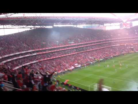 S.L.Benfica Campeão 2013/2014 - 2º Golo Benfica - Olhanense 2-0