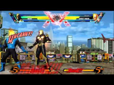Nova Resets and Guard Breaks - Ultimate Marvel vs Capcom 3 - UMvC3