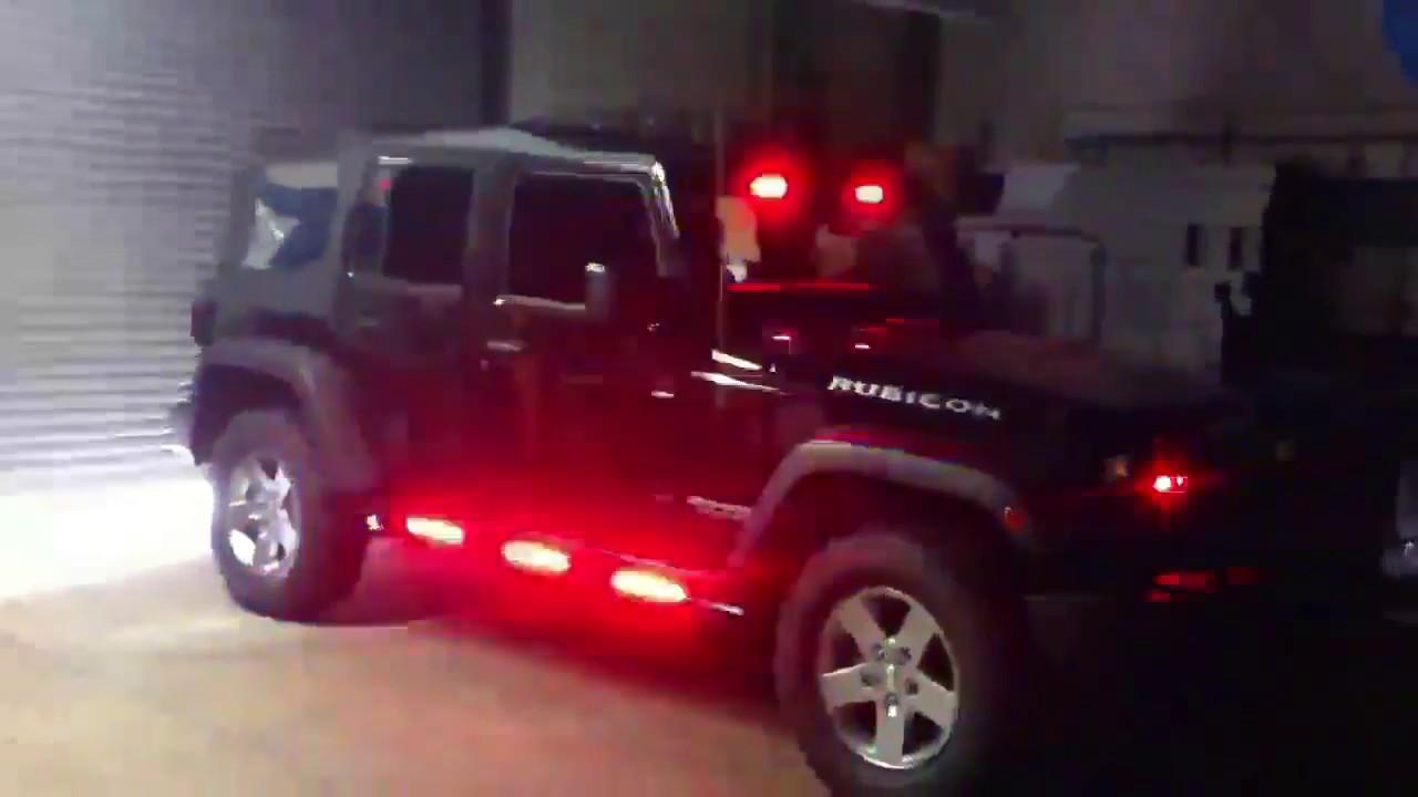 HG2 Emergency Lighting Jeep Wrangler YouTube