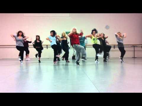'The Way You Love Me' Keri Hilson choreography by Jasmine Meakin (Mega Jam)