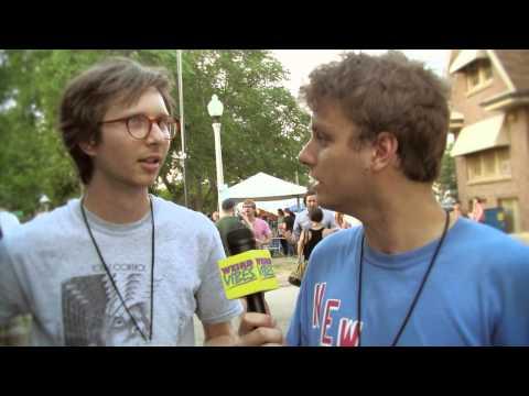 Mac DeMarco interviews Parquet Courts at Pitchfork Fest   Weird Vibes Ep18