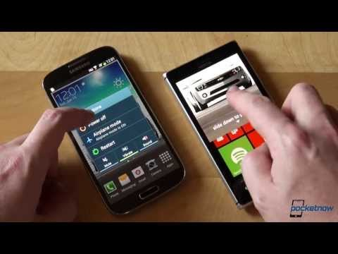 Nokia Lumia 925 vs Samsung Galaxy S 4