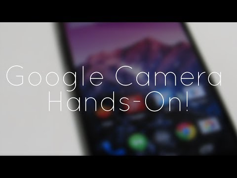 Google Camera App Hands-On!