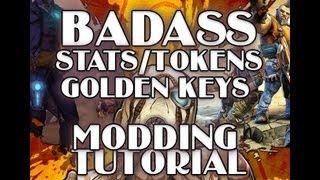 Borderlands 2 How To Mod BadAss Tokens, Stats, Golden