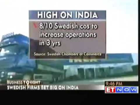 Swedish firms keen to invest in India