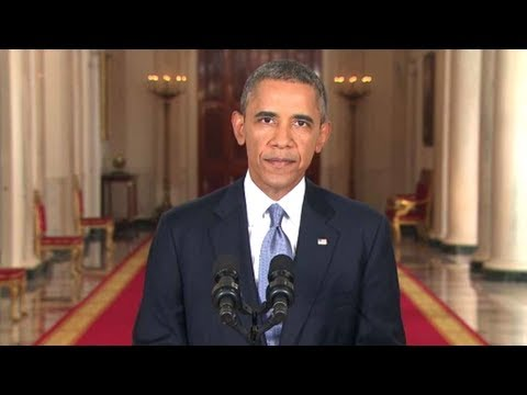 President Obama's Syria Address [Complete]