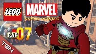 "LEGO MARVEL SUPER HEROES: ""BATALLA EN LA TORRE STARK"" #7 ( Gameplay en Español )"