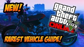 GTA 5 Online Rarest Vehicle! How To Get The Rare