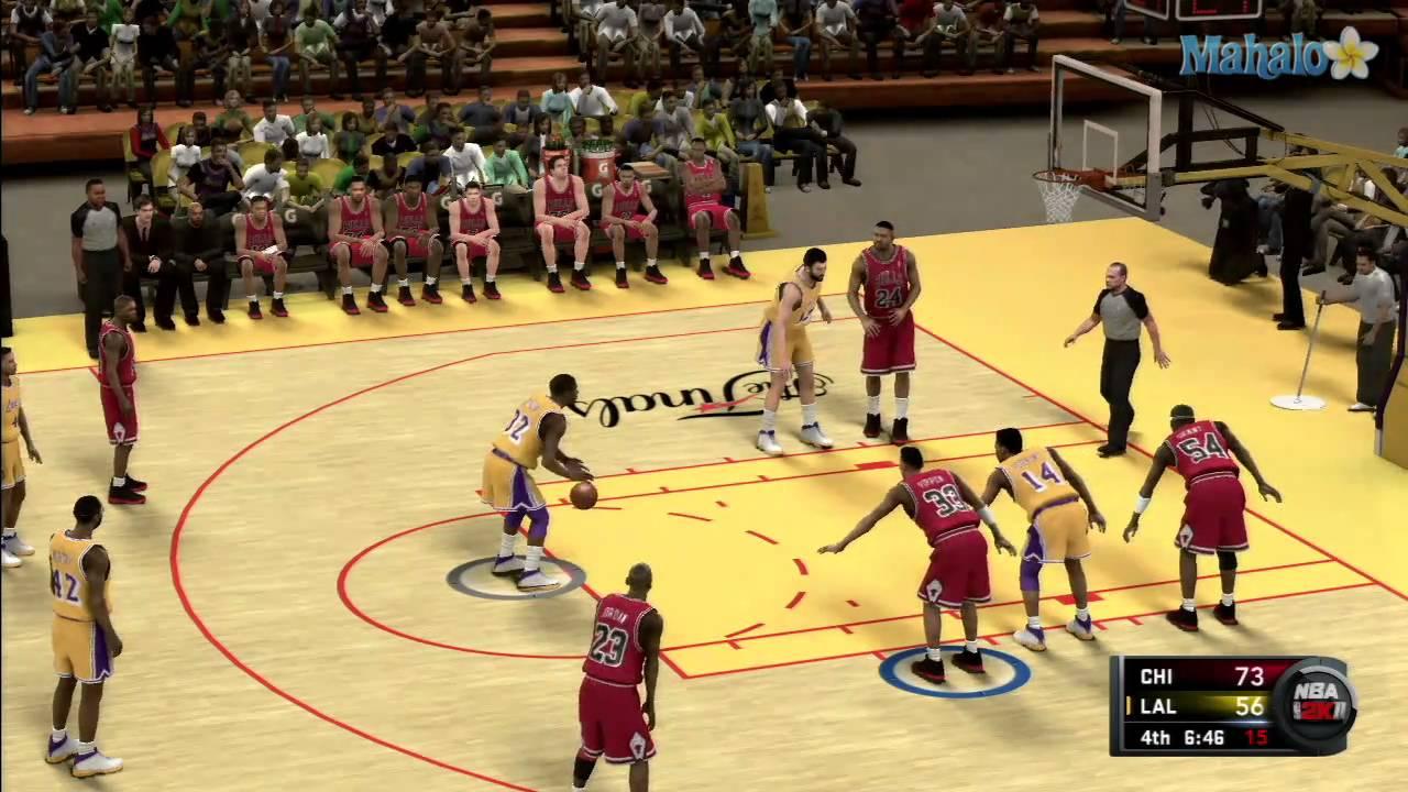 NBA 2K11 - 1991 NBA Finals - Game 4 (part 7) - YouTube