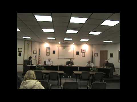 Rouses Point Village Board Meeting  11-21-11