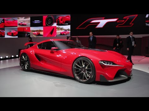 Toyota FT-1: How and Why Its Designers Created This Awesome Concept - 2014 Detroit Auto Show