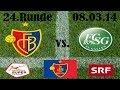 Resumo: Basel 1-1 St. Gallen (8 Março 2014)