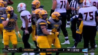 Idaho State vs. Northern Colorado Final Football Highlights