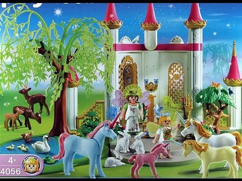 Playmobil princesse f es fairies youtube for Salle a manger playmobil