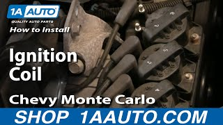 How To Install Replace Ignition Coil GM 3800 3.8L Grand