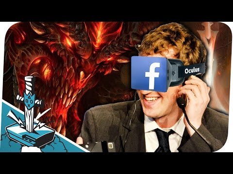 Facebook kauft Oculus Rift & Satan cancelt Bibel-Game!