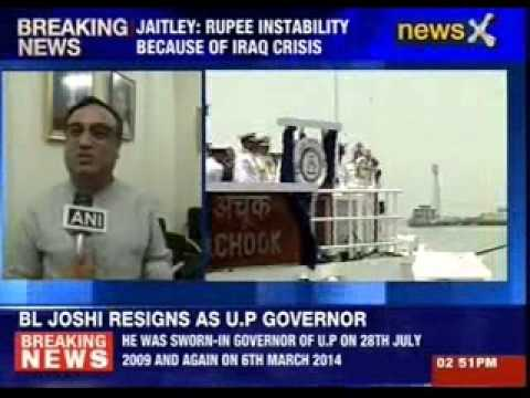 Finance minister Arun Jaitley blames Iraq situation
